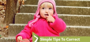 7 Simple Tips To Correct Bad Habits In Your Children