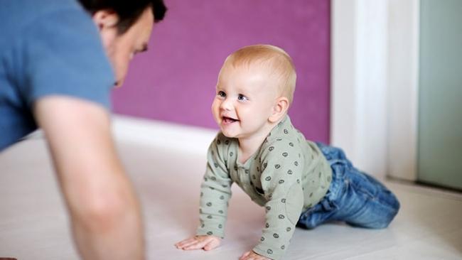 Why Do Some Babies Crawl Backwards?