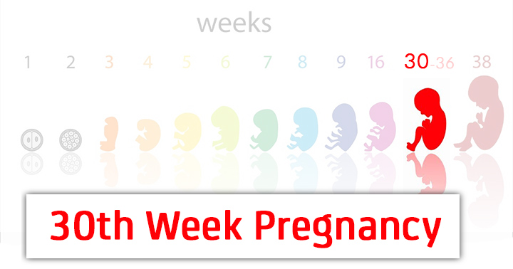 30th Week Pregnancy – Symptoms, Baby Development, Tips And Body Changes