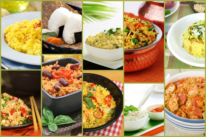 Top 10 Easy And Healthy Rice Recipes For Kids